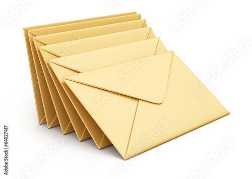 Stack of envelopes