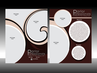 Professional Parlor Design Template