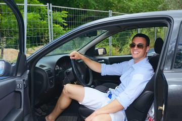 man car