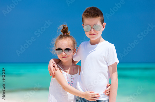 Kids at beach