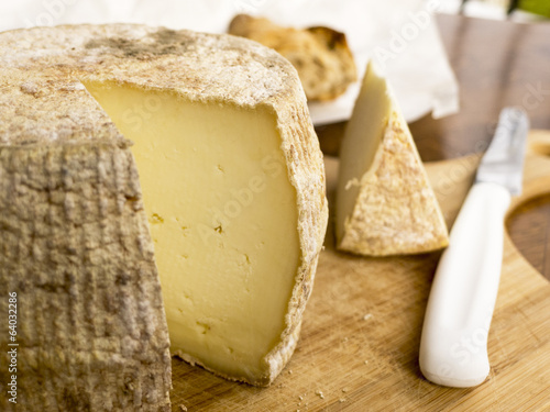 Homemade french cheese