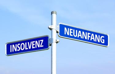 Insolvenz - Neuanfang