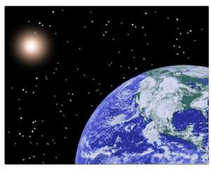 Pianeta terra - sistema solare - astronomia