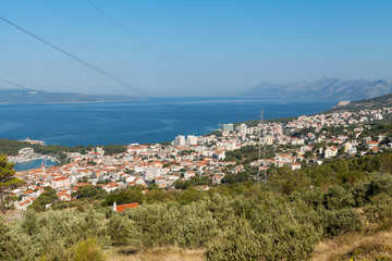 City of Makarska, Croatia