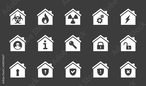 House icon set