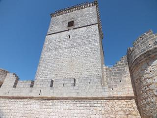 Castillo de Portillo (Valladolid). Torre del homenaje