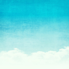 Grunge abstract sky background