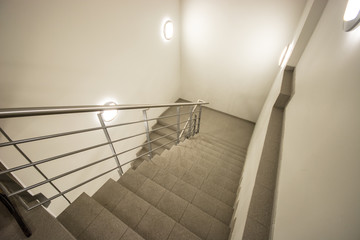Stairs, bright office