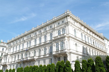 Historisches Haus in Wien 2