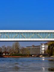 passerelle des institutions européennes à Strasbourg