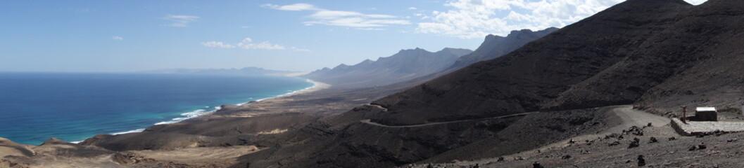 Fuerteventura. Panorámica Desde El Mirador De Cofete
