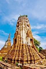 pagoda at ayutthaya; thailand