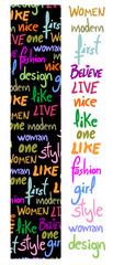Sticker fashion