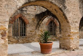 The Convento in mission San Jose, San Antonio, Texas