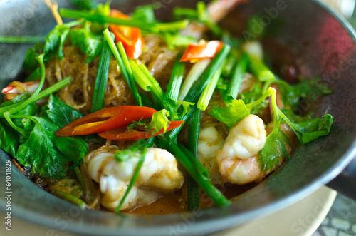 Baked Prawn with Vermicelli