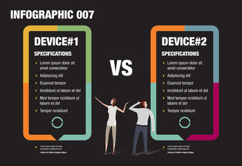 Mobile Phone Infographic