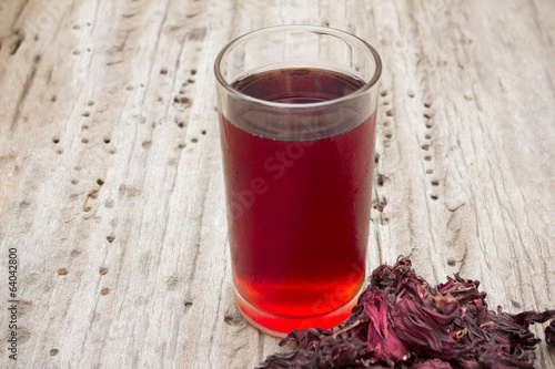 roselle mocktail drink