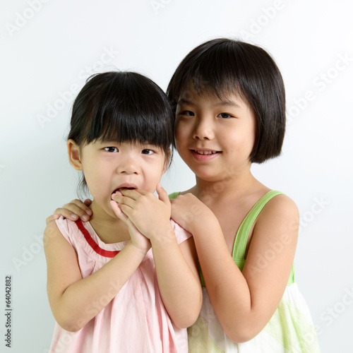 Little Asian girls