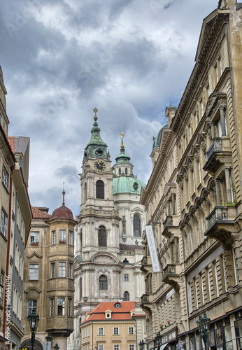 Beautiful classic Czech Republic architecture, Europe