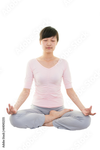 Sit in meditation