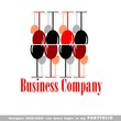 drinks, vine, glass, restaurant, holiday, vector, wine