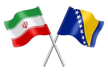 Flags: Bosnia-Herzegovina and Iran