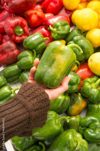 Choosing peppers