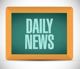 daily news message illustration design