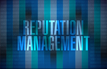 reputation management graphic illustration design