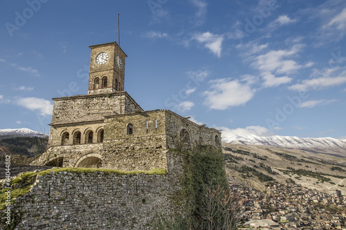 Clock Tower in Gjirokaster