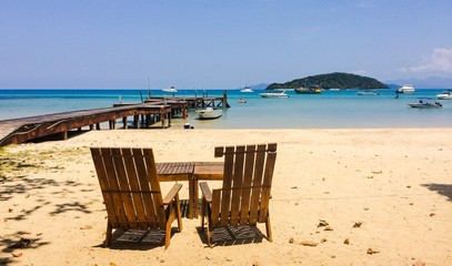 Relax time at Koh Mak island,Thailand