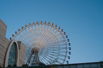 Ferris wheel at the Taipei, Taiwan