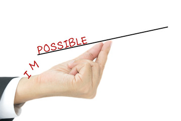 impossible into possible