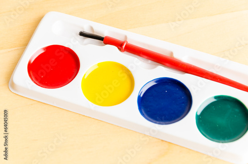 color brush palette