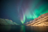 Northern lights, Ersfjordbotn, Tromso, Norway