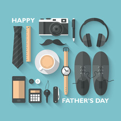 Father's day greeting card design