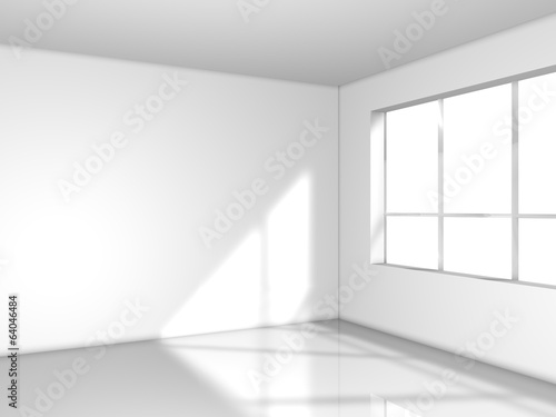 light white room with window