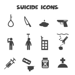 suicide icons