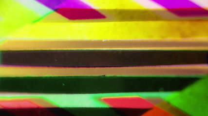 Vintage background of colorful lines.