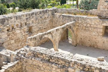 Vestiges du château de Kolossi
