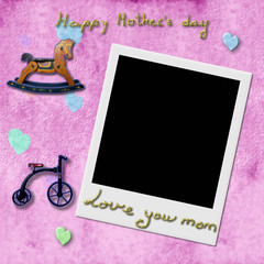 Happy Mother's Day Instant Photo Frame