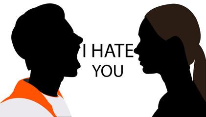 ti odio