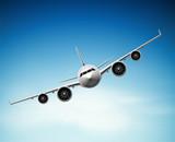 Fototapety Passenger airplane