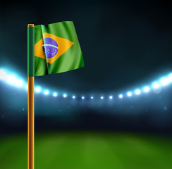 Start soccer match in Brazil