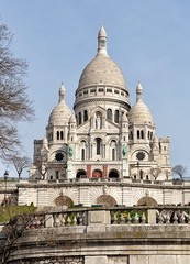 Basilica Sacre Coeur in Paris, France