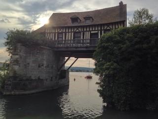 le vieux moulin de Vernon (Eure, Normandie)