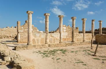 Colonnes du site archéologique de Paphos