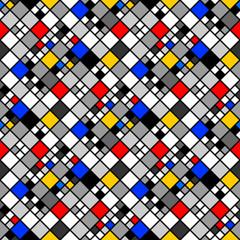 Design seamless colorful mosaic pattern