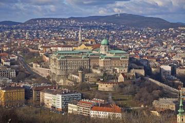 Buda Castle district, Budapest, Hungary