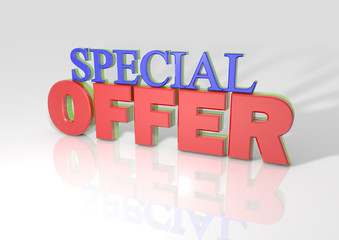 3D Special Offer